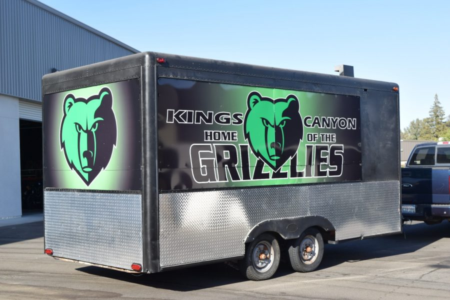 Kings Canyon Trailer Wrap