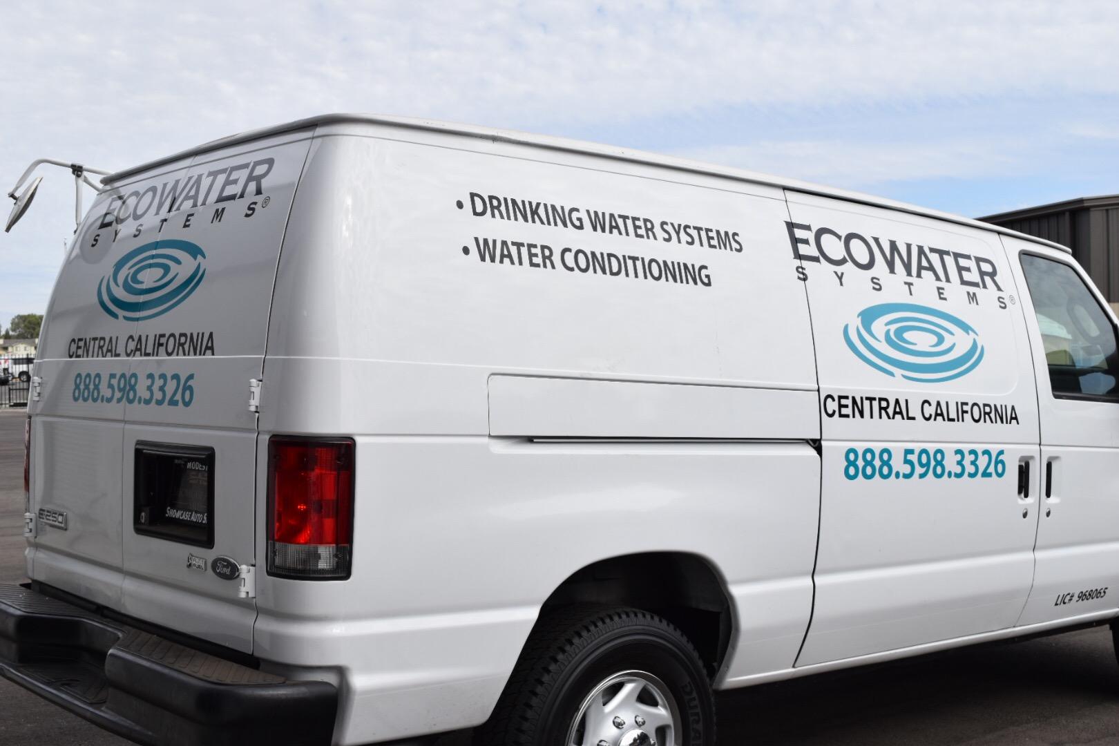 Eco Water Van Decals